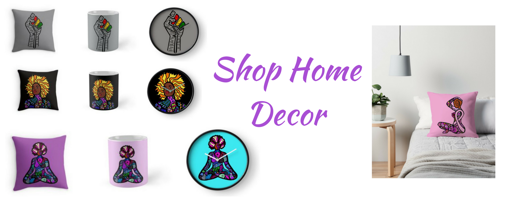 Shop for home decor